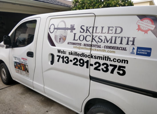 Skilled Locksmith van